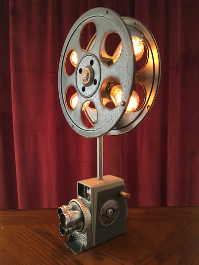 Illuminated Movie Reel
